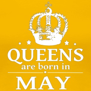 May queen - Premium-T-shirt dam