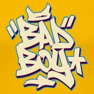 BAD BOY GRAFFITI - Frauen Premium T-Shirt