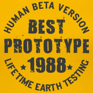 1988 - The year of birth of legendary prototypes - Women's Premium T-Shirt