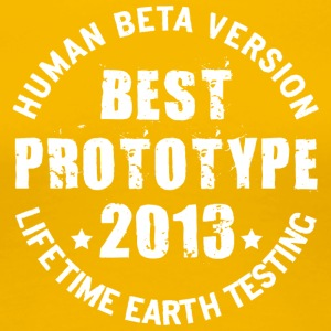 2013 - The birth year of legendary prototypes - Women's Premium T-Shirt