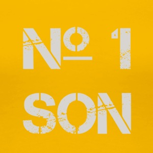 No.1 SON - Premium-T-shirt dam