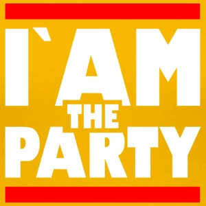 IAM den party1 - Premium-T-shirt dam