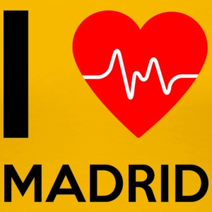 I Love Madrid - I Love Madrid - Premium T-skjorte for kvinner