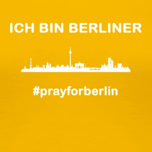 pray for Berlin - Frauen Premium T-Shirt