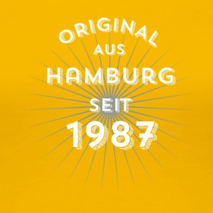 Original from Hamburg since 1987 - Women's Premium T-Shirt