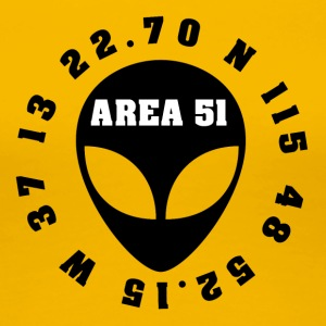 AREA 51 - Women's Premium T-Shirt