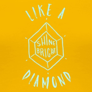 Diamond T-Shirt & Hoody - Women's Premium T-Shirt