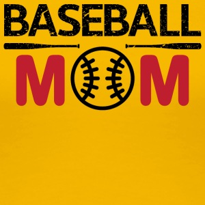 Baseball Mom - Frauen Premium T-Shirt