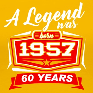 Legends were born in 1957. T-Shirt - Women's Premium T-Shirt