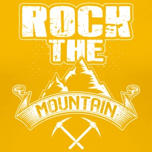 Rock Mountain - Premium-T-shirt dam
