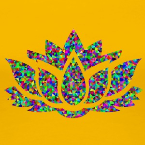 Colourful Lotus - Women's Premium T-Shirt