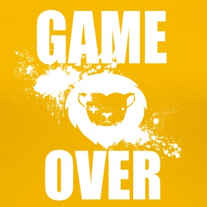 Gamer - Game Over - Vrouwen Premium T-shirt