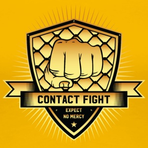 Contact Fight Gold - Frauen Premium T-Shirt