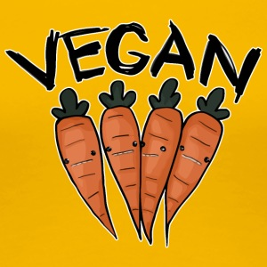 Vegan Carrot - Women's Premium T-Shirt