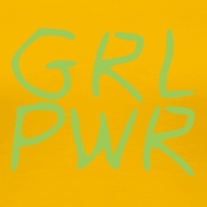 girl Power - Premium T-skjorte for kvinner
