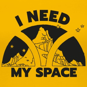 My Space - Dame premium T-shirt
