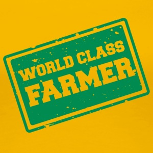 Farmer / Farmer / Farmer: World Class Farmer - Premium-T-shirt dam