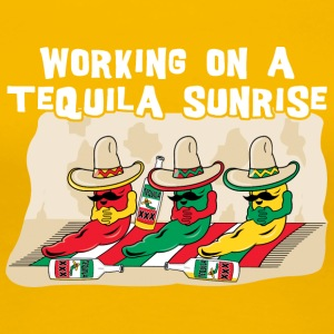 Working On A Tequila Sunrise - Women's Premium T-Shirt
