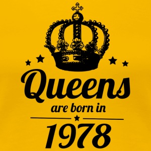 Queen 1978 - Women's Premium T-Shirt