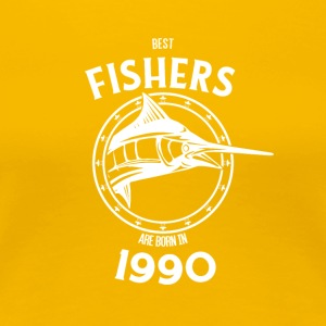 Present for fishers born in 1990 - Women's Premium T-Shirt