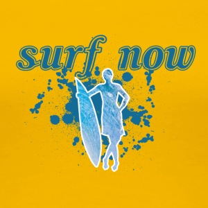Surfer girl 02 01 - Women's Premium T-Shirt
