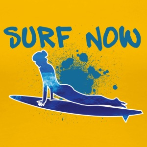 surfer girl 3 01 - Women's Premium T-Shirt