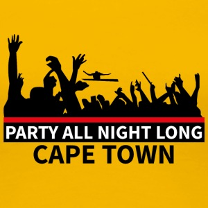 CAPE TOWN Party - Dame premium T-shirt