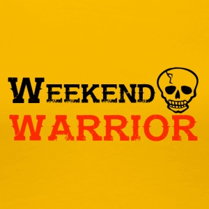 Shirt Weekend Warrior Wochenende Party - Frauen Premium T-Shirt