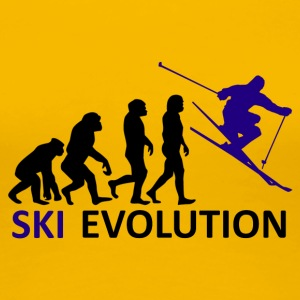 ++ ++ Ski Evolution - Dame premium T-shirt
