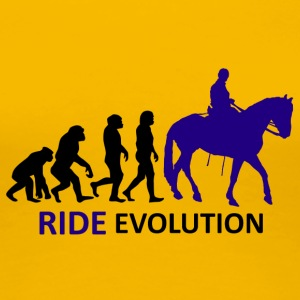 ++ ++ Ride Evolution - Premium T-skjorte for kvinner