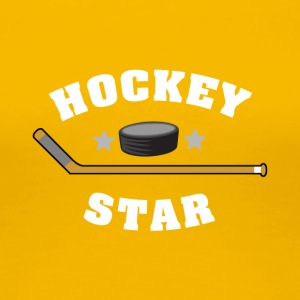 hockey Star - Vrouwen Premium T-shirt