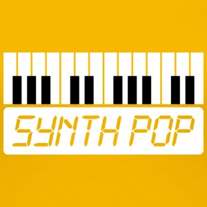 SYNTH-POP MUSIC (1) - Dame premium T-shirt