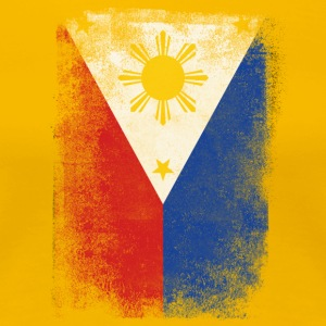Philippines Flag Proud Filipino Vintage Distressed - Premium-T-shirt dam