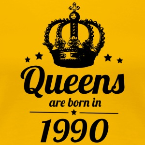 Queens 1990 - Frauen Premium T-Shirt
