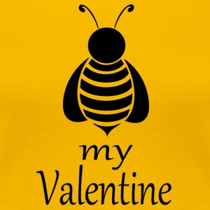 Bee my Valentine - Women's Premium T-Shirt