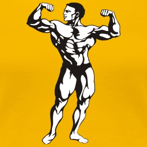 Oldschool Bodybuilding GOLIATH WEAR - Premium-T-shirt dam