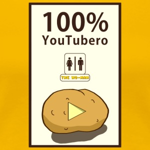 100% YouTubero WC-Man - Women's Premium T-Shirt