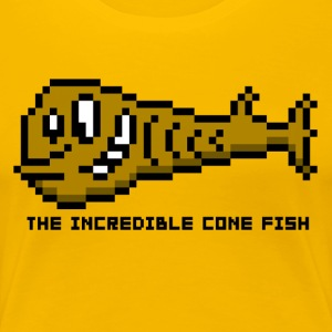 Cone Fish - Frauen Premium T-Shirt