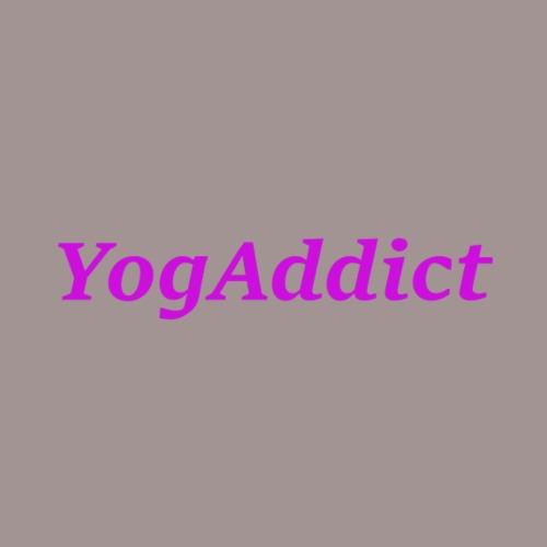 Yoga Addict - T-shirt Premium Femme