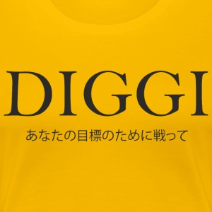 Diggi - Fighting for your goals - Women's Premium T-Shirt