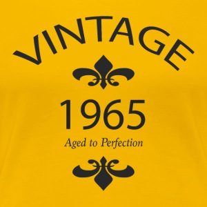 Vintage 1965 Aged to Perfection - Women's Premium T-Shirt