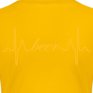 Beer heartbeat ECG - Women's Premium T-Shirt