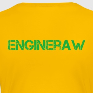 Engineraw - Premium-T-shirt dam