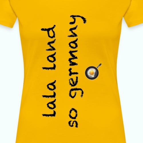 la la land transparent p - Frauen Premium T-Shirt