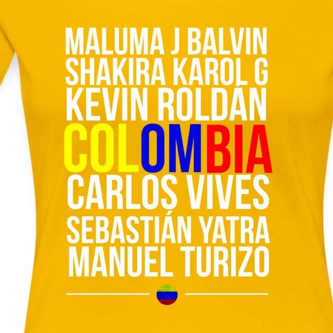 Reggaeton Shirt Kolumbien