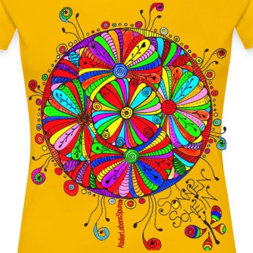 RoterBlütenTraum - Frauen Premium T-Shirt
