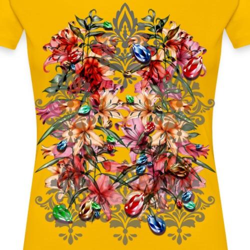 Barocco - Maglietta Premium da donna