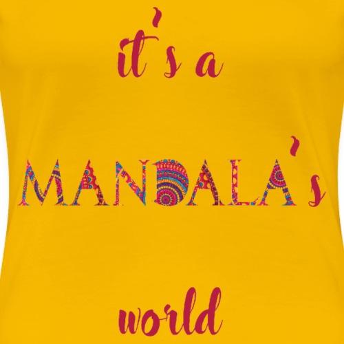 Es el mundo de un mandala