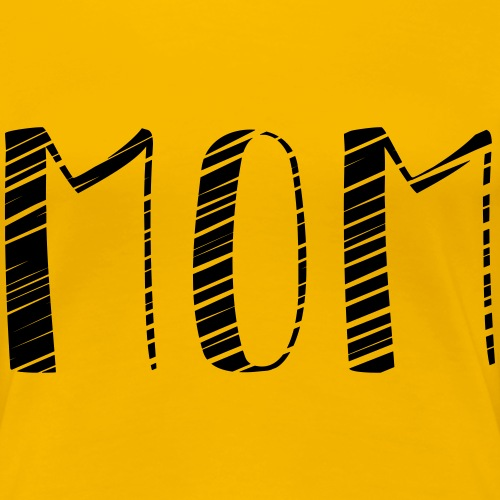 Stolze Mom? - Frauen Premium T-Shirt