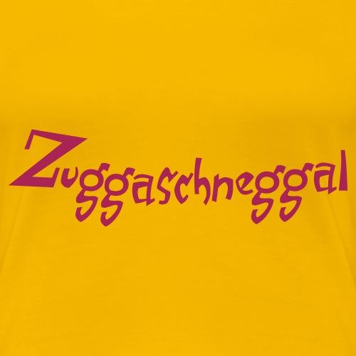 Zuckerschnecke - Frauen Premium T-Shirt